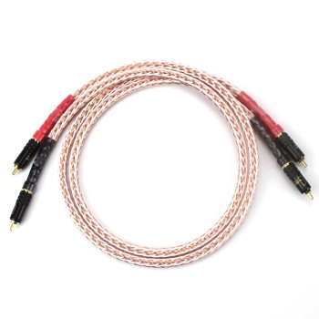 male HI-End HiFi Kimber  Audio Cable Male to Male HIFI RCA Cable 7N OCC Pure copper RCA Male to Male Audio Cable