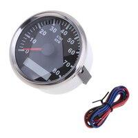Medidor de hora marinho impermeável 0-8000 rpm 85mm do calibre do tacômetro instalam o diâmetro #1