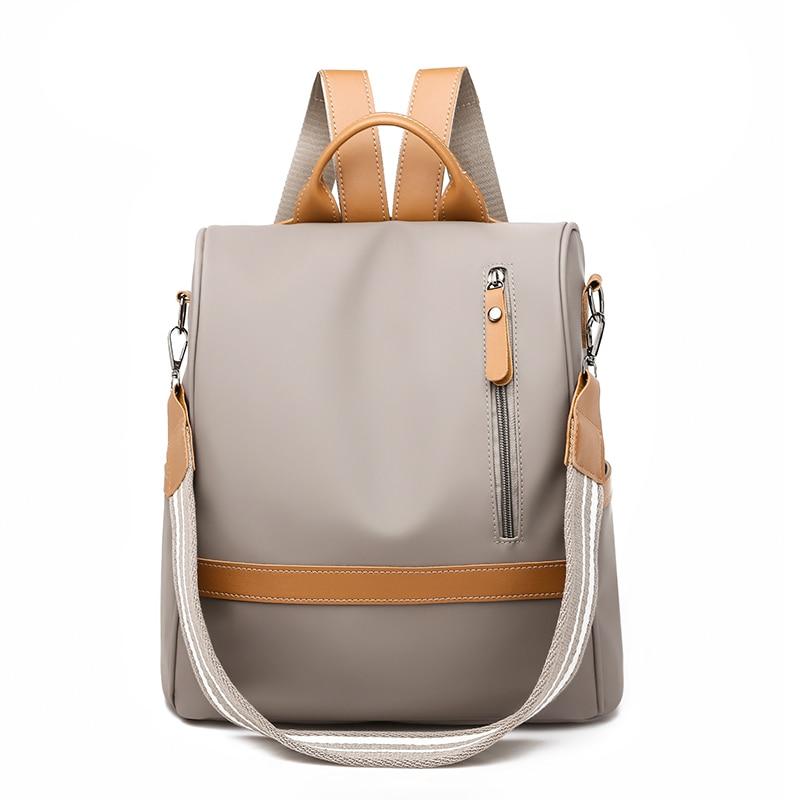 Anti-roubo de mulheres ladies mochilas bagpack mochila de grande capacidade de alta qualidade à prova d' água mulheres Oxford mochila saco um dos