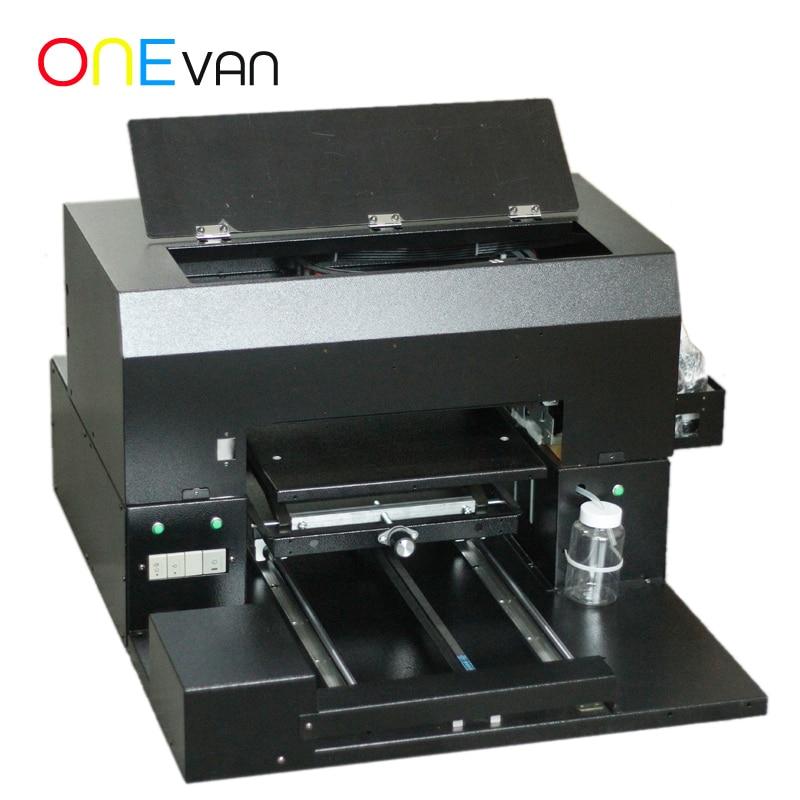 ONEVAN.Uv Universal Flatbed Inkjet Printer Small Acrylic Printing Inkjet Embossed Mobile Phone Shell Making Equipment