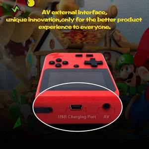 Image 3 - children mini boy video handheld game 500 in 1 players console 8 bit retro video game console 8bit for Child Nostalgic Player