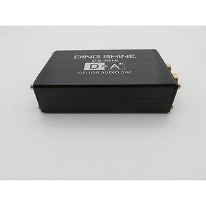 Image 5 - Мини Hi Fi USB внешняя звуковая карта ES9018K2M, DAC декодер NE5532 TL072 op amps 24 бит 96 кГц