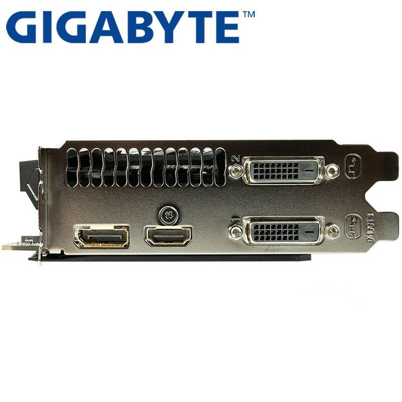 Видеокарта GIGABYTE GTX 1060, 3 ГБ, 192 бит, GDDR5, оригинальные б/у видеокарты для nVIDIA, видеокарты Geforce GTX 1050 Ti HDMI 750 960-4