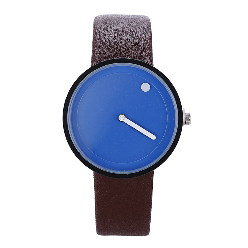 Hot Sales AliExpress Hot Selling Creative Unisex Couples Quartz Watch Fashion Genuine Leather Students Watch
