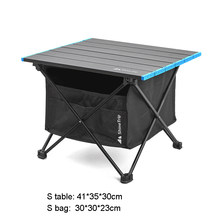 Outdoor Folding Table Chair Camping Aluminium Alloy BBQ Picnic Table Waterproof Durable Folding Table Desk