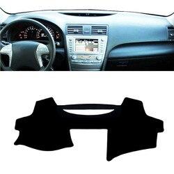 Dla Toyota Camry XV40 2007 2011 deska rozdzielcza mata pokrywa Pad ANTI UV parasol przeciwsłoneczny Instrument dywan ochronny akcesoria samochodowe do stylizacji w Listwy wewnętrzne od Samochody i motocykle na