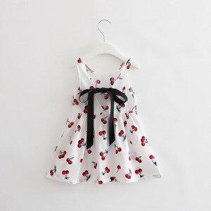 Платье для маленьких девочек, летнее пляжное платье без рукавов, на 1 год, день рождения, для маленьких девочек, повседневная одежда, Vestido Infantil 12 24M
