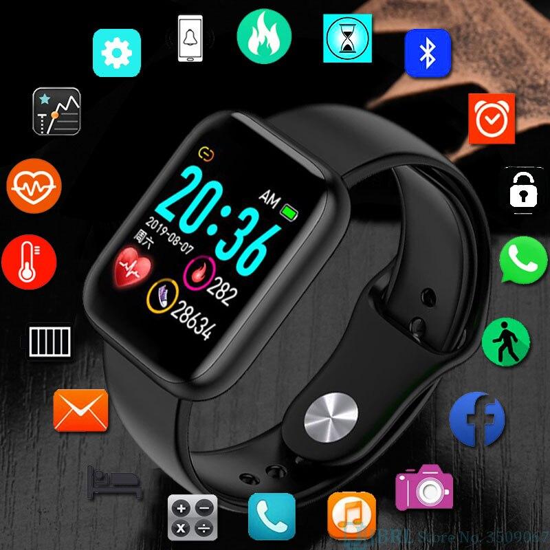 Full Touch Digital Watch Men Sport Women Watches Electronic LED Ladies Male Wrist Watch For Men Women Clock Female Wristwatch