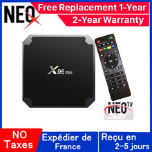 Mejor x96 mini iptv caja neo tv pro android tv caja 1G 8G 2G 16G x96mini neox inteligente ip decodificador(China)