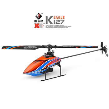 WLtoys Helicopters K127 2.4Ghz 4CH 6-Aixs Gyroscope Single Blade Propellor Gyro Mini RC Helicotper For Kids Gift RC Toys v911 5