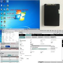 V06/2020 Software ISTA-D 4.23 P 3.67 For BMW Icom Next A2+B+C Wifi NEXT Inpa ETK in 720G New SSD win7 64bit with Expert Mode(China)