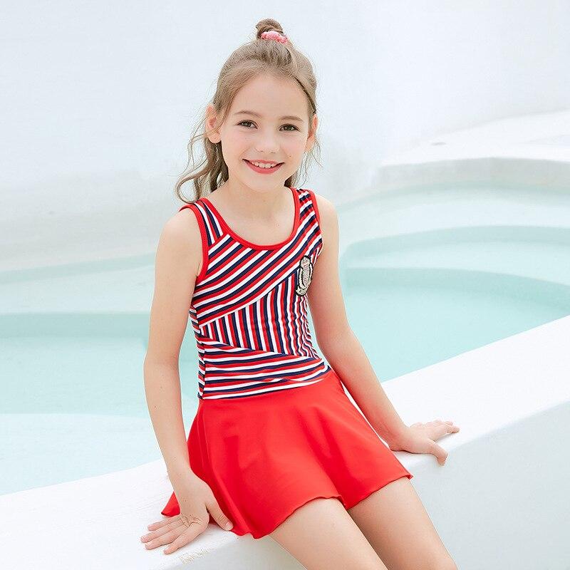 2019 New Style Children Students Swimwear Big Boy GIRL'S Swimming Suit
