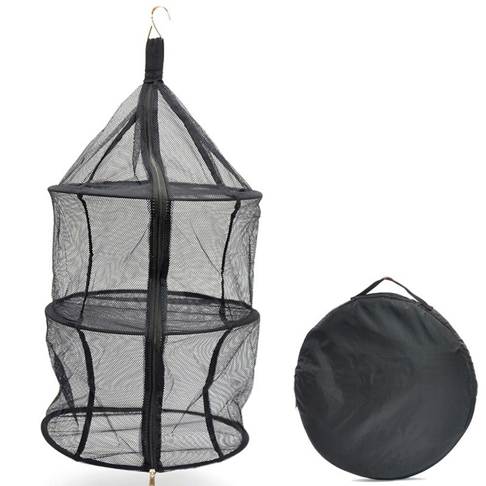 На открытом воздухе кемпинг нейлон трехслойный складной хранение хранение сетка карман одежда подвес сетка быстрая доставка