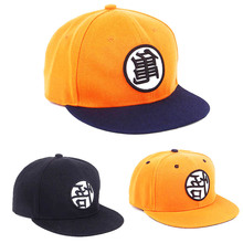 Dragon ball Cosplay High Quality Z Goku Hat Snapback Flat Hip Hop Caps Toy For Kids Birthday Gift Boys B793