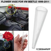 Porta vaso de flores para automóveis, ornamentos de decoração de painel, para vw beetle 1999 2000 2001 2002 2003 2004-2011
