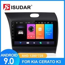 ISUDAR Car Radio For Kia/K3/Cerato FORTE 2013 2014-2017 2 din Android 9 Autoradio Multimedia Camera DVR RAM 2GB ROM 32GB USB IPS klyde 8 quad core android car dvd multimedia player radio stereo 2gb ram 3g 4g wifi dab swc for kia k3 forte cerato 2013 2017