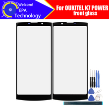 OUKITEL K7 POWER Front Glass Screen Lens 100% Original Front Touch Screen Glass Outer Lens for K7 POWER Phone +Tools+Adhesive