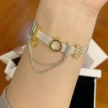 925 пробы браслет с серебряными бусинами, подвески, женские браслеты, набор ювелирных изделий, подарки, подходят под бренд, подвески, серебро, 925