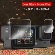 Screen Protector for GoPro Hero 7 Black 6 8 Protective Film Tempered Glass for Gopro Hero 6 7 8 Action Camera Accessories high quality waterproof housing case for gopro hero 5 6 action camera hero 5 6 black edition