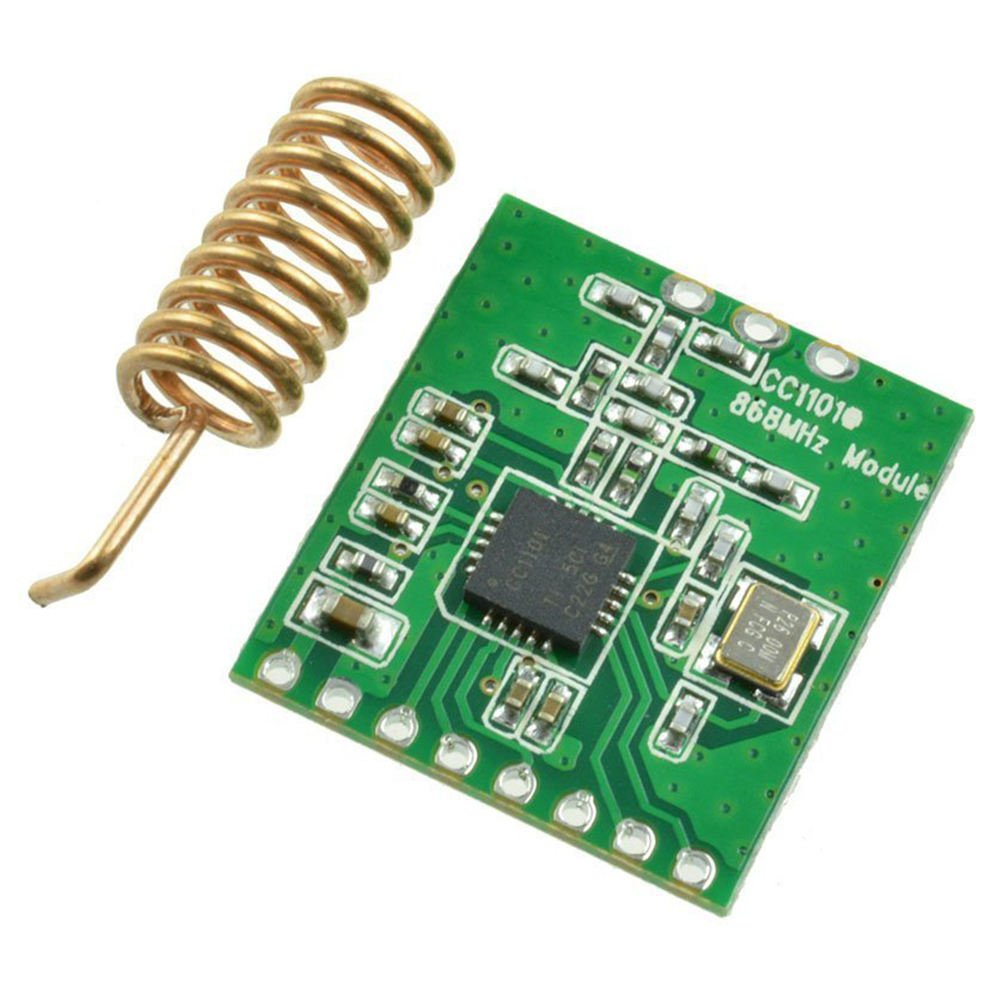 Accessory Wireless Module Low Power Durable Part 868MHZ Components Radio Transmission Board CC1101 Antenna Transceiver Interface