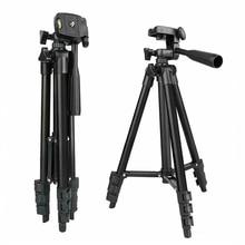 Trípode de cámara DSLR para fotografía y vídeo soporte de trípode móvil de aluminio para Smartphone, trípode portátil, anillo de luz, monopié