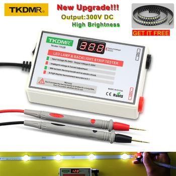 TKDMR LED koralik świetlny i tester podświetlenia nie trzeba demontować ekranu LCD wszystkie listwy LED Lights test naprawczy wyjście 0-300V tanie i dobre opinie TD2B