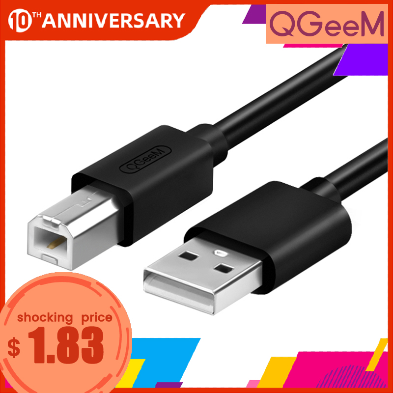 Usb Cable For Printer High Speed A To B Male To Male Usb Printer Cable Data Sync  For 3d Label Printer Lenovo 1m 1.5m 2m 3m 5m
