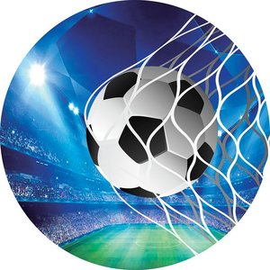 Image 4 - Football Circle Round Backdrop Sports Soccer Field Birthday Party Custom Backgrounds for Photo Studio Boys Baby Shower Photocall