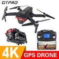 OTPRO 4K GPS 1080P WIFI FPV แบบพับเก็บได้ระดับความสูงโหมด Hold RC Quadcopter เฮลิคอปเตอร์ RTF ของเล่นของขวัญ