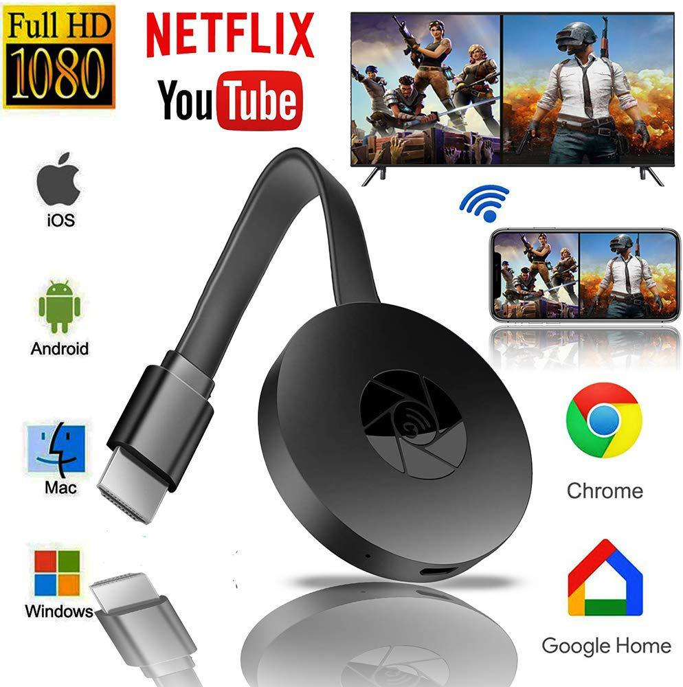 TWISTER.CK Android / IOS Wireless HDMI Display Dongle HD Mobile TV Projection Video Transmission