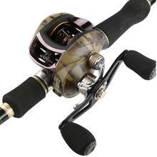 8.1:1 Speed Metal Cup Water Drop Fishing Wheel Fishing Gear Fishing Reel 8 1 1 speed metal cup water drop fishing wheel fishing gear fishing reel