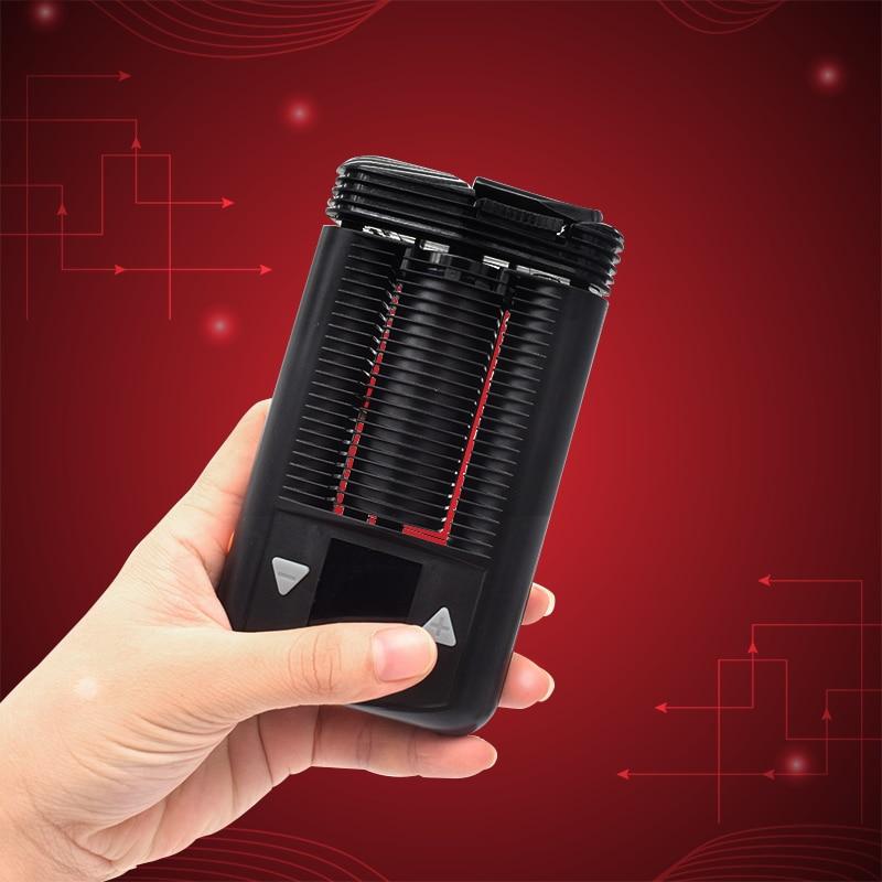 Dry Herb Vaporizer Smooth cool vape kit battery-powered Pocket-Vaporizer With Temperatuer adjustable Box Mod best Portable e-cig