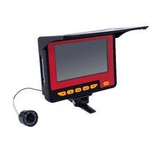 IG-20M 1000TVL рыболокатор подводная камера для подледной рыбалки 4,3 дюймов ЖК-монитор 8 шт. светодиодный камера ночного видения для рыбалки с европейской вилкой
