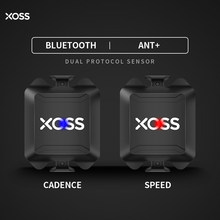 XOSS Cycling Computer Speedometer Speed and Cadence Dual Sensor ANT+ Bluetooth Road Bike MTB Sensor For GARMIN iGPSPORT Bryton