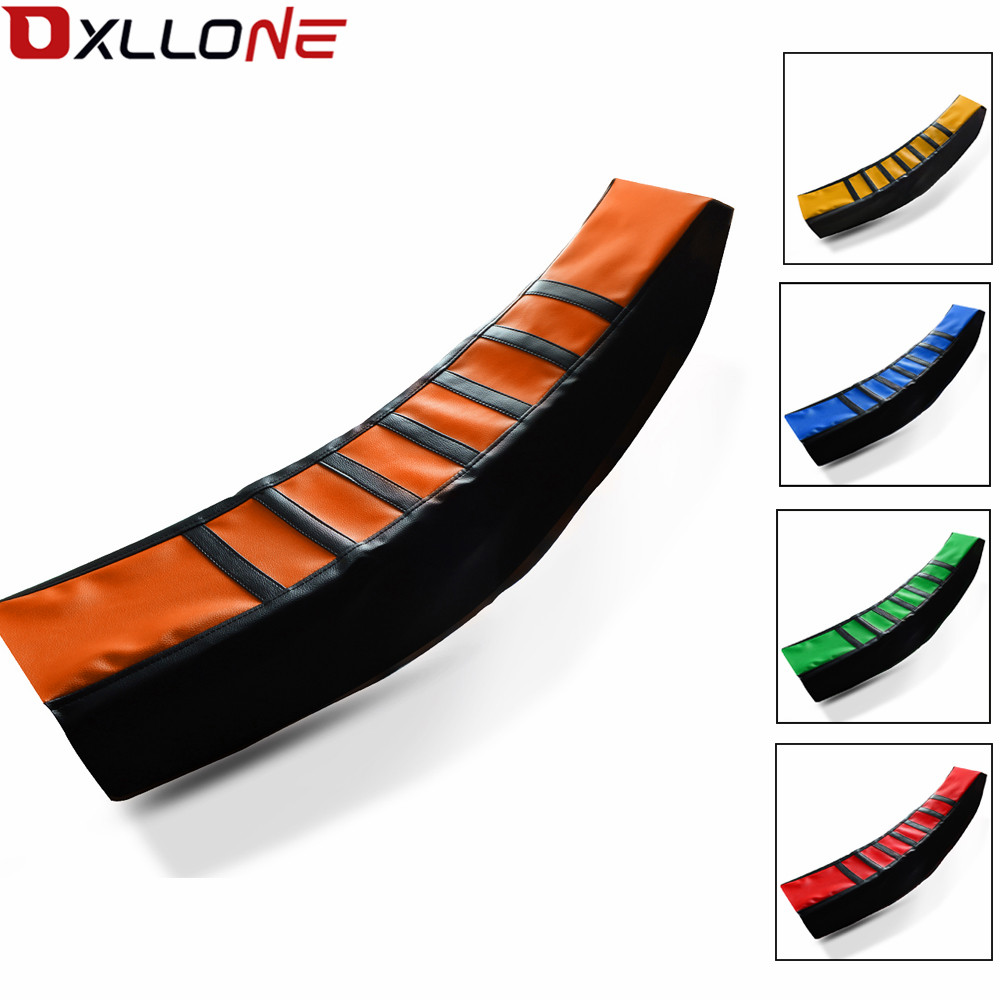 Universal Motorcycle Rubber Striped Soft Seat Cover Moto For KTM 50/250/125/65/85/105/150/450/525 SX FREERIDE <font><b>E</b></font> 350 Accessories image