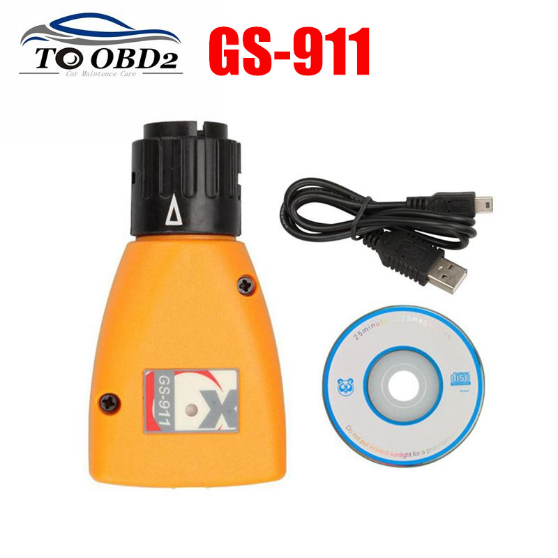 2020 Professional OBD2 Diagnostic-tool GS-911 V1006.3 Emergency Diagnostic Scanner For BMW Motorcycles GS911 1006.3