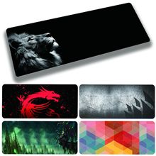 Gaming Mouse Pad Computer Mousepad Anti-slip Natural Rubber Anime Mouse Pad Gamer Desk Mat