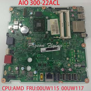 AIO 300-22ACL motherboard  Mainboard  for lenovo All-in-One CPU:AMD DDR3 FRU 00UW115  00UW117  6050A2741901 FP4CRZST 100% test