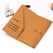 Storage-Bag Envelope File-Folder Receipt-Card Planner-Accessories Notebook Paper Kraft