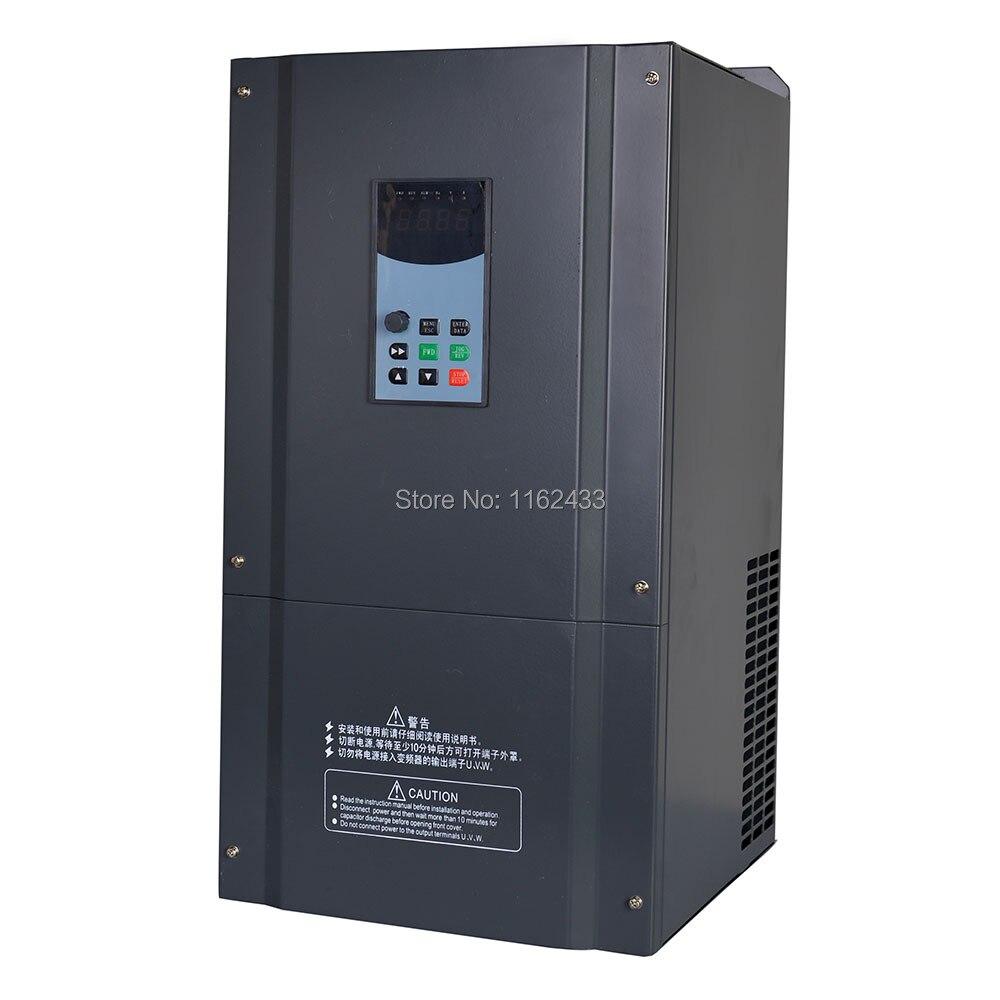 SV8-4T0550G 55kw 380 v trifásico à movimentação variável trifásica da frequência do inversor 400 hz vfd do vetor sensorless da c.a.