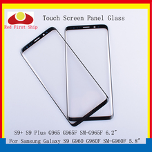 10Pcs/lot Touch Screen For Samsung Galaxy S9 G960 G960F SM-G960F/S9+ S9 Plus G965F SM-G965 Touch Panel Front Outer S9 LCD Glass смартфон samsung galaxy s9 sm g965f 64gb бургунди
