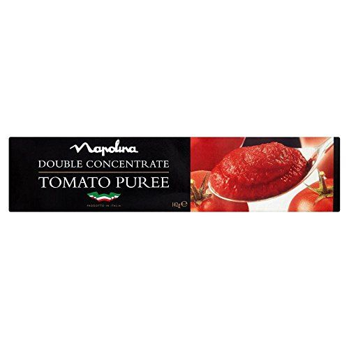 Napolina Double Concentrate Tomato Puree (142g) - Pack Of 2