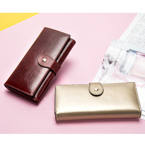Image 4 - WESTAL wallet women genuine leather womens wallet/purses clutch female wallets for crad coin leather ladies clucth bag for girl