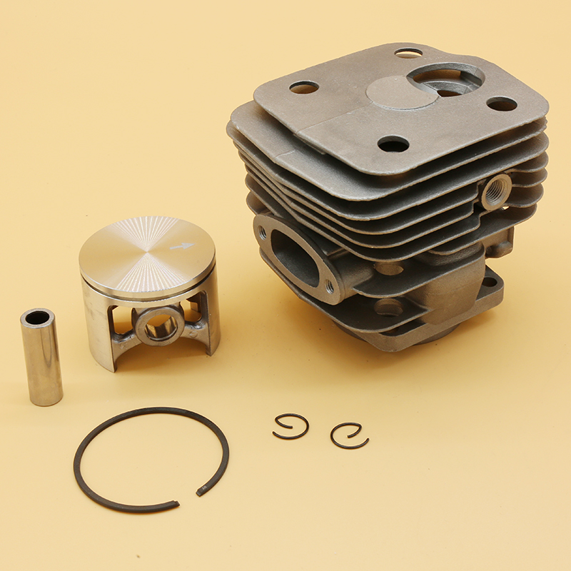 54mm Cylinder Piston Fit For Husqvarn 181 281 281XP 288 288EPA 288XP Gas Chainsaw Parts   503907471 503506302 503506301