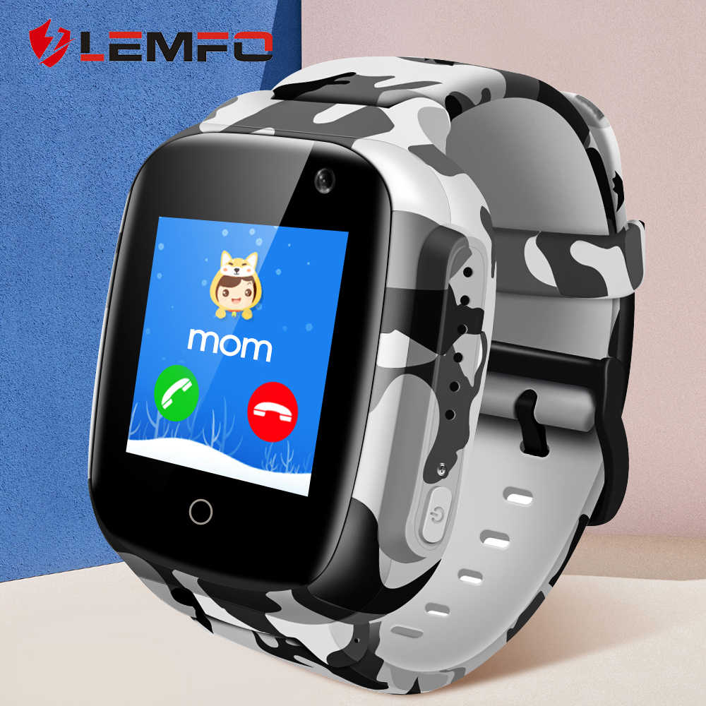 LEMFO Kids Watches Cute Smart Watch Kids  Waterproof GPS WIFI Long Standby Time Camera support Voice Chat for Children