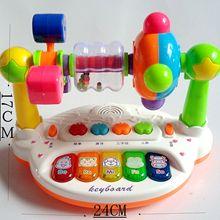 [] Электронная клавиатура, Ранняя обучающая история, Игрушечная машина, игрушки для детей и младенцев, обучающая игрушка