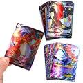 20-300 шт Французский версия Язык Покемон карточная игра карты 140GX 60V Vmax 60Tag 20EX 20MEG для детей