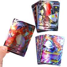 Cartas de Pokémon en francés para niños, cartas de juego de batalla, 140GX, 60V, Vmax, 60Tag, 20EX, 20MEG, 20-300 Uds.