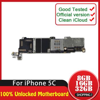 TDHHX 8 GB 16 GB 32 GB dla iphone 5C płyta główna z chipsetem oryginalny odblokowany dla iphone 5C telefon płyta główna darmowa wysyłka tanie i dobre opinie For iPhone 5c Wewnętrzny Apple iphone Shenzhen Guangdong China(mainland) Full QC Tested In Stock 8GB 16GB 32GB 100 Unlocked