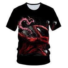 2020 Summer Newest Boy Girl Venom t-shirt Kids 3D Printed T-shirts Children Casual Tshirt Short Sleeve Pullover Punk T Shirt embroidered pullover t shirt